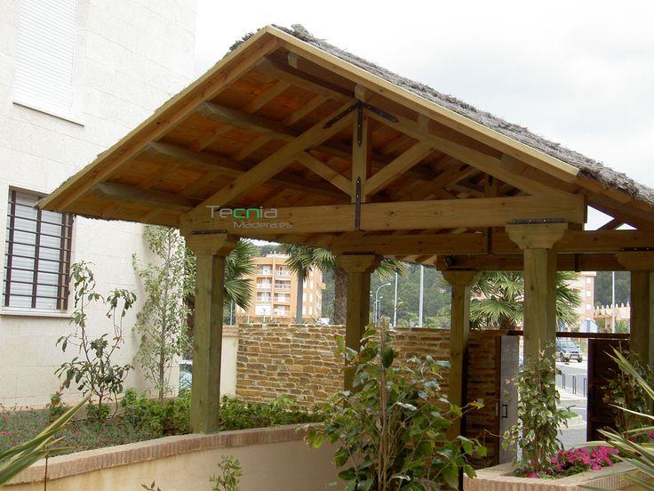 Mejores 76 im genes de porches y p rgolas de madera en pinterest cenadores disfruta y p rgolas - Pergolas de madera en sevilla ...