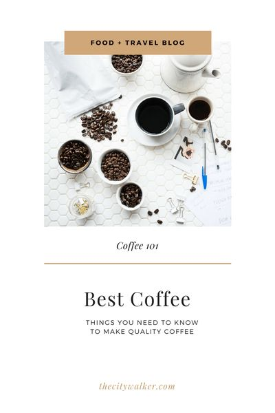 All About Coffee | Coffee Guide | Foodie Travel | Eat Like A Local