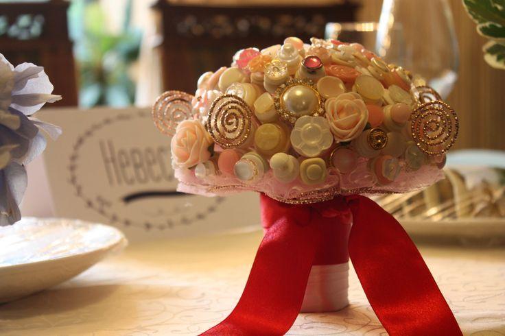 """Букет из пуговиц/Button Bouquet Wellcome to my Hand-made Studio """"Lepota"""" https://vk.com/lepota_iz_fetra"""