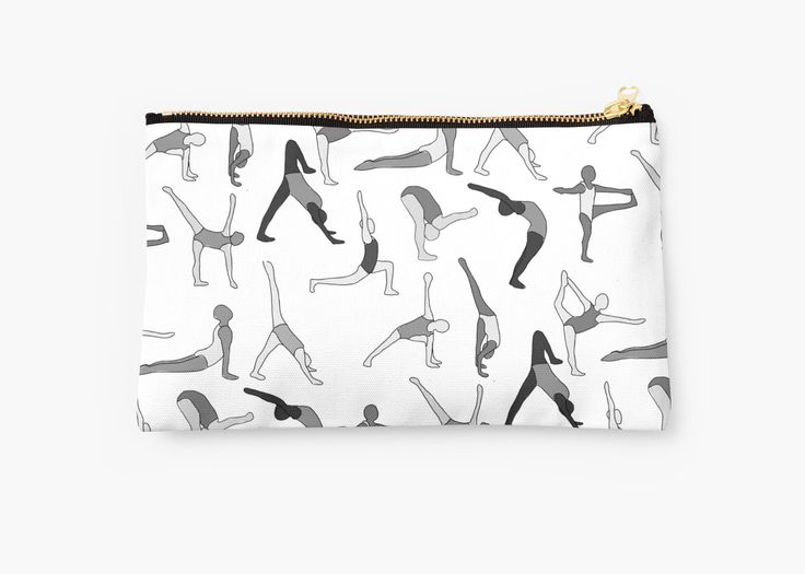 Let's get bendy: party time, yoga style! • Also buy this artwork on bags, apparel, phone cases, and more.