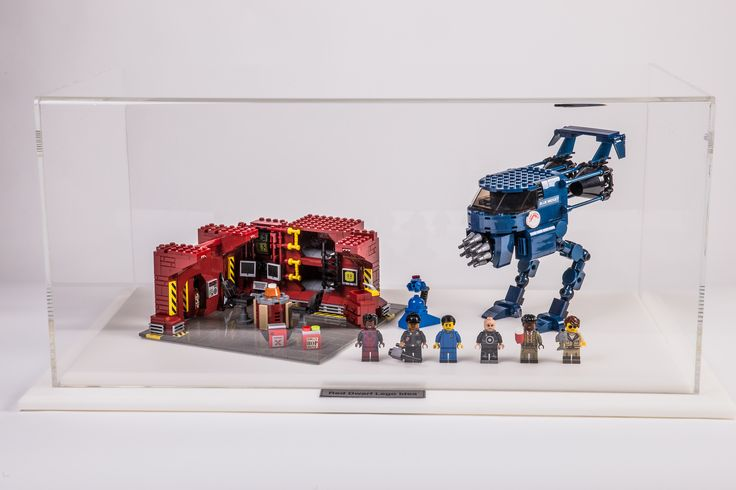 Here is one of our display cabinets being put to great use to display a fantastic lego® display. Extremely pleased with the display case, our customer emailed us this image of their unique design enclosed within the display case, and I'm sure you'll agree both look fantastic!
