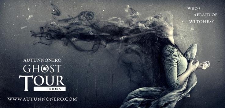 "Autunnonero Ghost Tour Triora promotional image, ""The witch"""