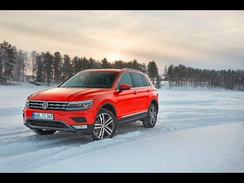 The All New 2016 Volkswagen Tiguan 4Motion / Winter Test / - YouTube