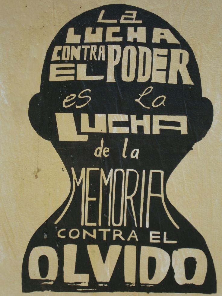 La lucha contra el poder. Santiago de Chile, Romería al Cementerio General, 8 de sept. de 2013. A 40 años del golpe.
