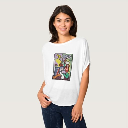 Picaso Grande Nature, colorful fine art paint Tees