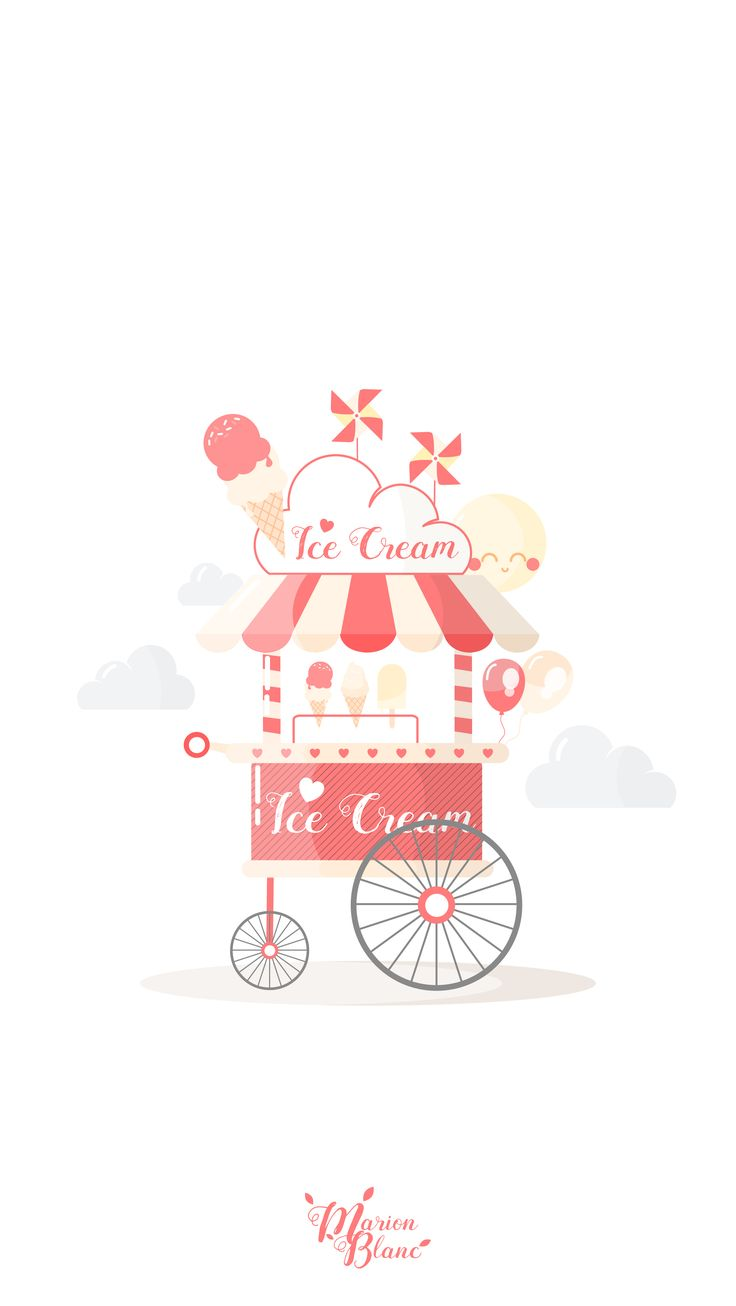 Ice cream - Marion Blanc