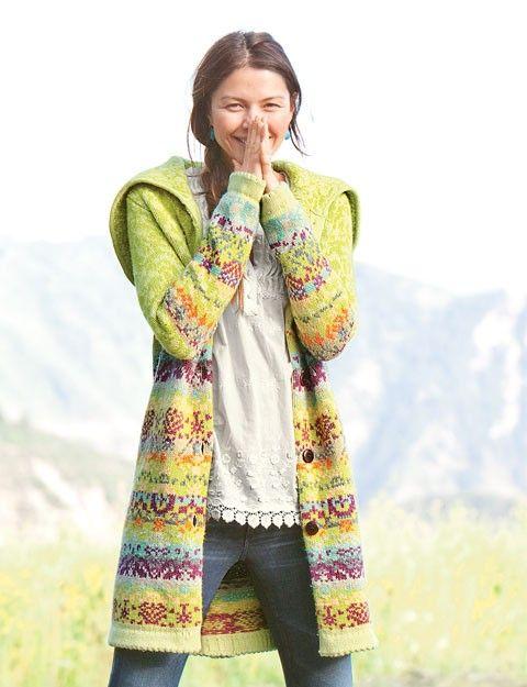 342 best fair isle knitting images on Pinterest | Cardigans ...