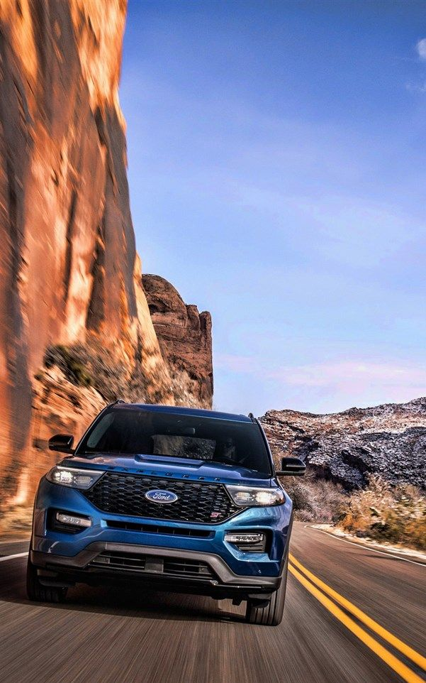 Ford Explorer Desert 2019 Cars Suvs Motion Blur 2019 Ford Explorer American Cars Ford Ford Explorer Hd Picture Desktop Wallpaper