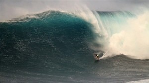 big wave surfing in Bali, Indonesia