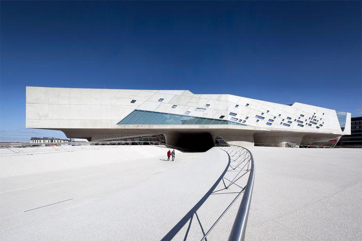 PHAENO SCIENCE CENTER Germany // Wolfsburg. Architects: Zaha Hadid. Photography Johannes Heuckeroth.