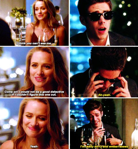 """""""I think you can't see me"""" - Patty and Barry #TheFlash"""