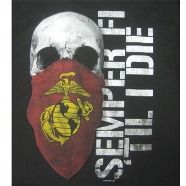 Even if I don't join the marines like I want, I will always be one in my heart. Semper Fidelis anyway, my fellow soldiers.