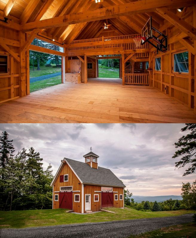 Need your own place for a little March Madness? Have we got a barn for you! Visit to see more. #barns