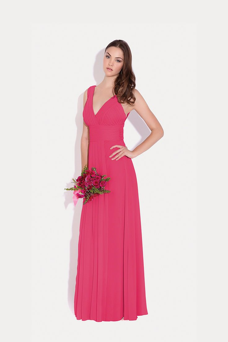 23 best Vestidos images on Pinterest | Hot pink, Bodas and Blue