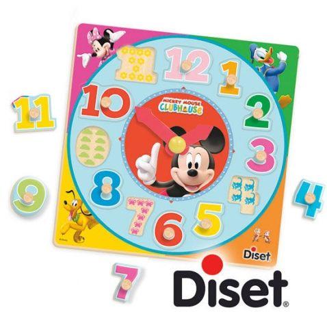 Mickey Mouse - Dřevěné hodiny