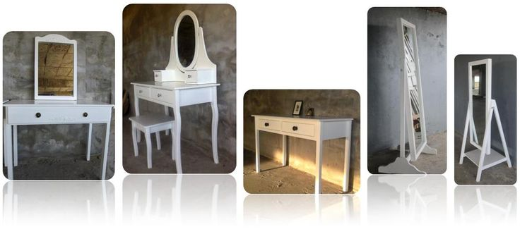 Off The Bench made to order  Dressing Tables   Pivot Mirrors Tel :  021 8217 827