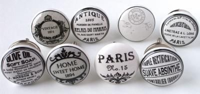 Bouton de meuble poignee de meuble pour porte et tiroir d tail vintage sh - Poignee de meuble vintage ...