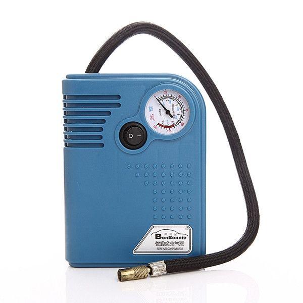CQ8003 Car Tire Air Pump Air Compressor Cigarette Lighter Power Supply Tire Tools With Pressure  Gauge
