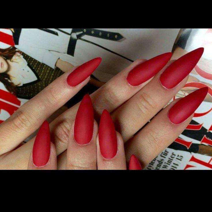 Crvena Boja, Rot, Red, Nails, Nokti, Nägel, Hands, Ruke
