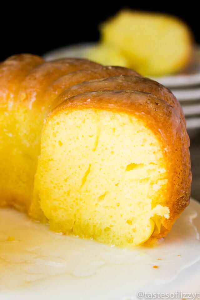 Easy Lemon Pound Cake Recipe