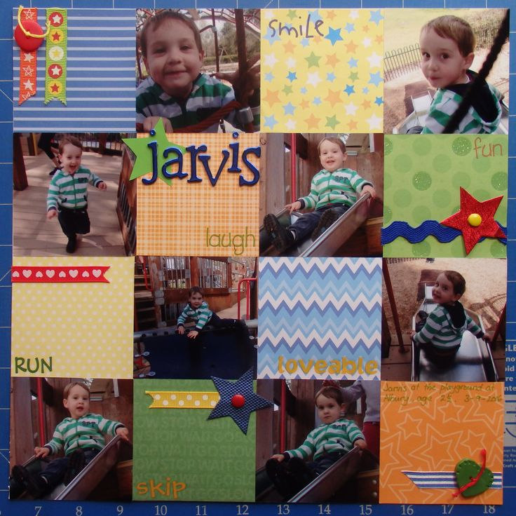 Scrapbook page by Laura: Jarvis