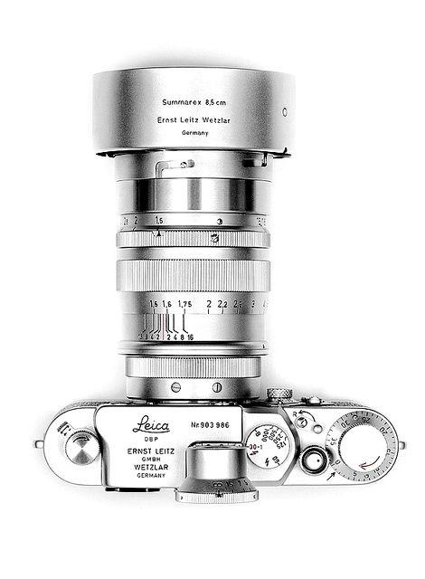 Silver Leica Camera