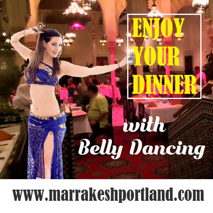 There is no better thing to do on a Thursday than enjoying a delicious dinner with some beautiful belly dancing here at Marrakesh Restaurant! For further details, Visit: http://marrakeshportland.com/ala-carte/ #BellyDancing #BellyDance #DinnerSpecials #Yummy #WellBalanced #Soup #Healthy #TreatYourTaste #AlaCarte #MoroccanRestaurant #MoroccanCuisine #MoroccanCulture #Delicious #MorrocanRestaurant