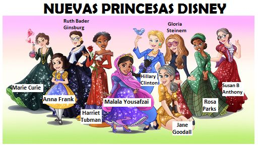 Nuevas princesas Disney