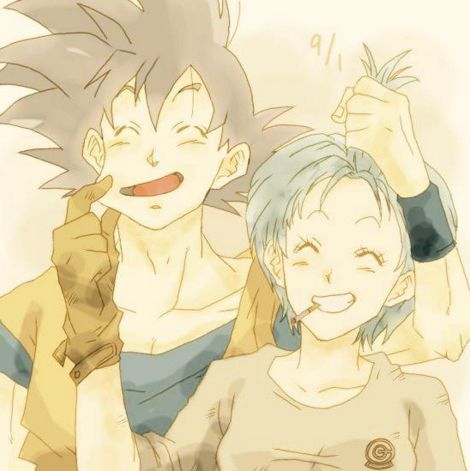 Best 25 goku and bulma ideas only on pinterest goku - Goku e bulma a letto ...