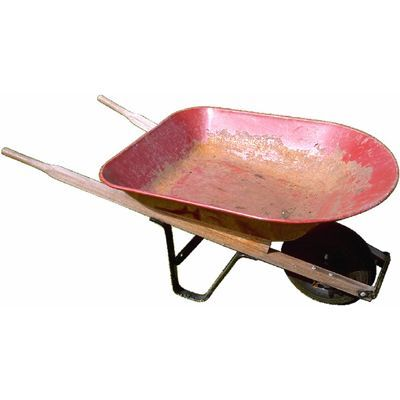 wheelbarrow   meaning of wheelbarrow in Longman Dictionary of Contemporary English   LDOCE