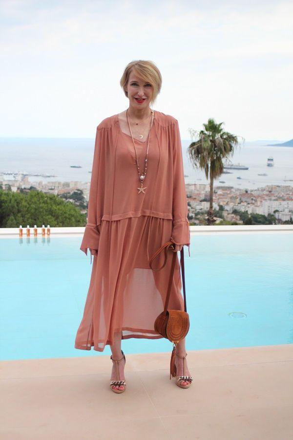 In Cannes mit Elvital Öl Magique Coco
