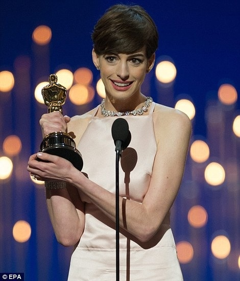 Anne Hathaway Les Miserables Interview Video: 76 Best Oscars Images On Pinterest