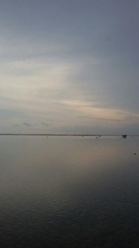 Sayangheulang beach. Pameunpeuk. Garut. West java. Indonesia
