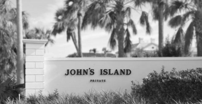 Johns Island private gated community located 6 miles north of Vero Beach, Florida
