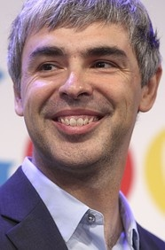 39 year old Larry Page is the chief executive officer of Google; net worth 20.3 billion.