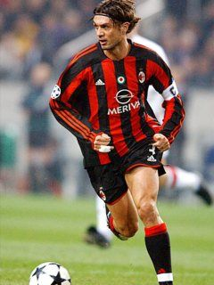 I enjoy FOOTBALL. And AC Milan is my first love of football. Paolo Maldini is one of football players who I love :D *love struck*.