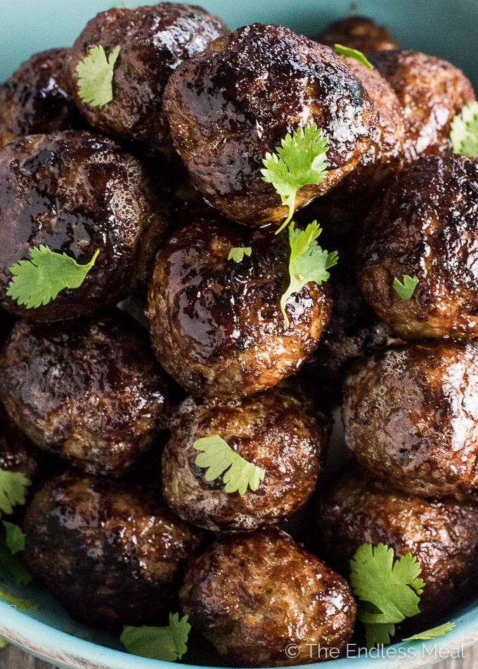 If you're looking for a meatball recipe that will rock your world, these Lemongrass Vietnamese Meatballs are it. They're full of delicious Asian flavors, crazy tender and super easy to make. They're also naturally gluten-free and paleo. You're going to LOVE them! | theendlessmeal.com
