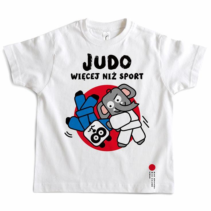 JUDO T-shirt / JUDO, MORE THAN SPORT /
