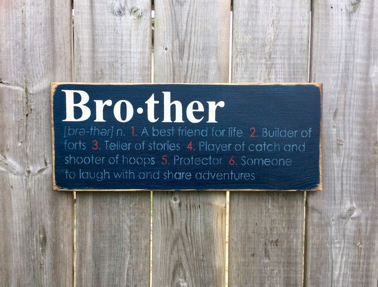 Bro.ther Made by The Primitive Shed, St. Catharines