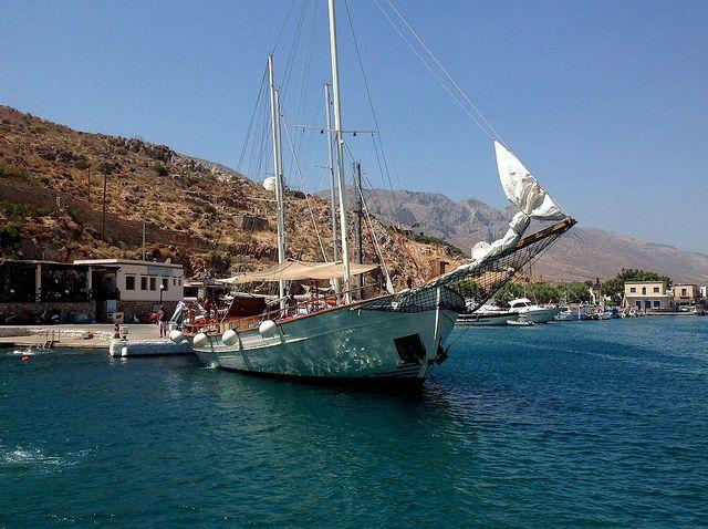 De Maria 3 Island Cruise vaart vanuit Kos richting nabijgelegen eilanden.