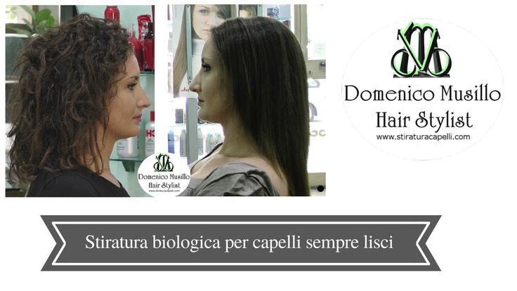 Stiratura biologica dei capelli CHI Transformation System