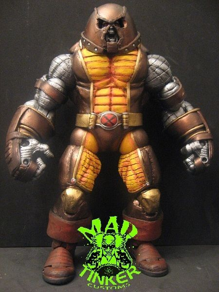 Colossus with Juggernaut Power Custom Action Figure ...