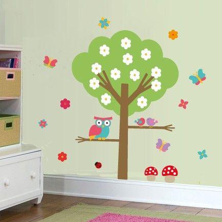 Adesivo de parede infantil - Floresta Encantada 2
