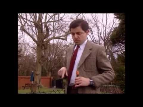 31 - Mr Bean playing golf