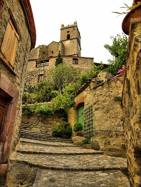 Medieval Village, Eus, France          #France #holiday #travel