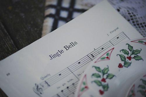 Singing Christmas carols around the piano...