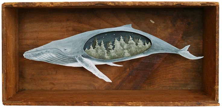 Wonderful Miniature Paper Art in Wooden Boxes