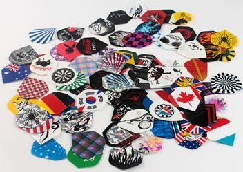 Set of 3 Dart Flights - Hundreds to choose from