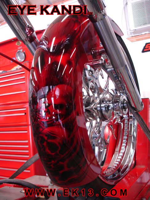 Epic Firetruck S Motor Sicle Paint Airbrush Paintingskull Paintingbagger Motorcyclecustom Jobscustom
