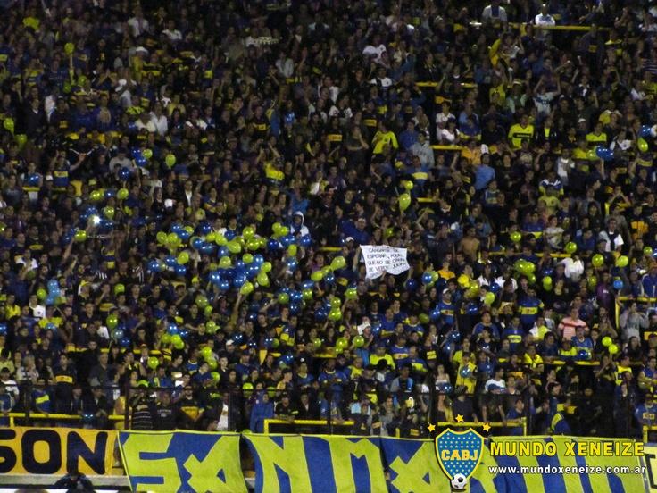 Boca vs Unión 3 marzo 2013 Tribuna del Riachuelo